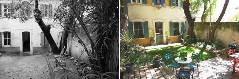 Jardin réalisé par un jardinier paysagiste