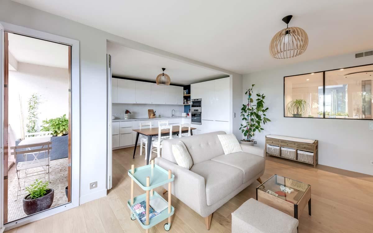 Rénovation d'un appartement 4 pièces par un architecte d'intérieur