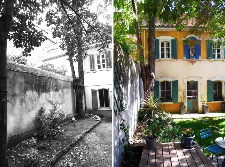 Am nagement d 39 un jardin d 39 une maison de ville par un for Jardinier bruxelles