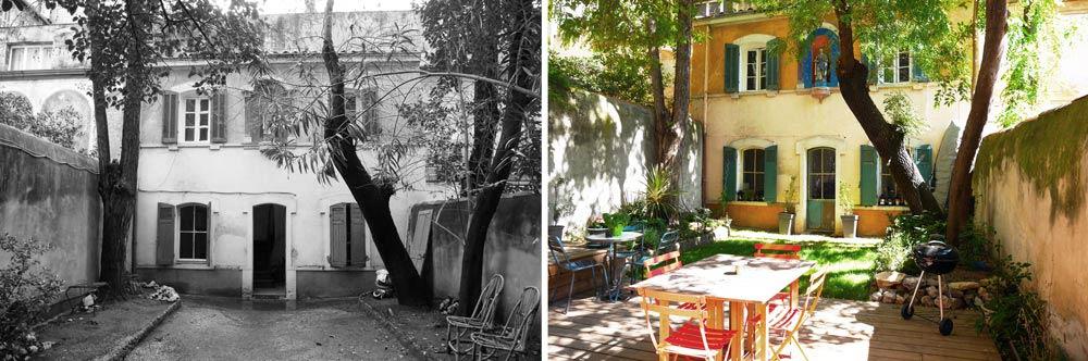 Aménagement d'un jardin par un jardinier paysagiste