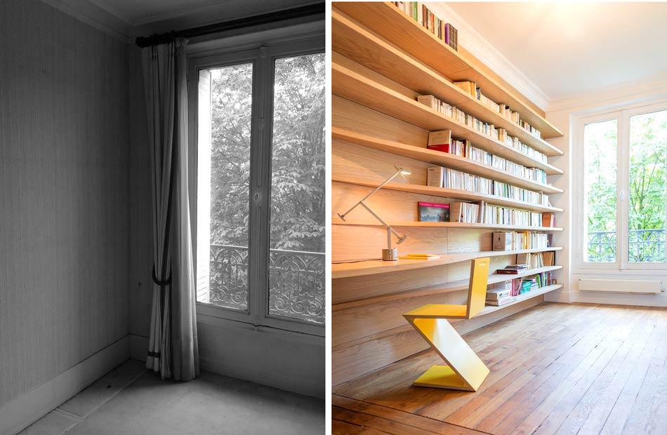 R novation d 39 un appartement 3 pi ces par un architecte d for Architecte bruxelles