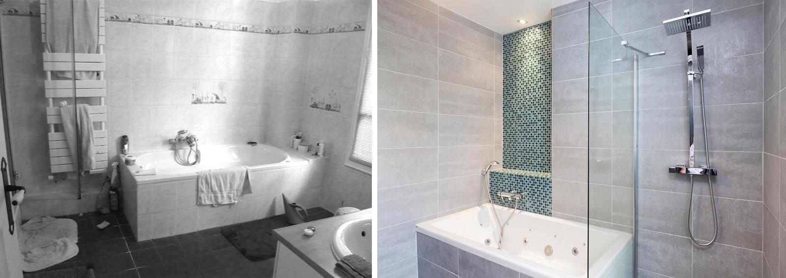 Aménagement intérieur et décoration d'une salle de bain