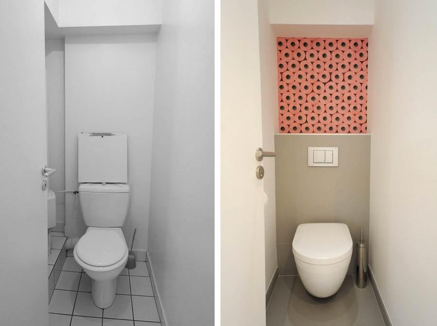 Aménagement d'une salle d'eau WC