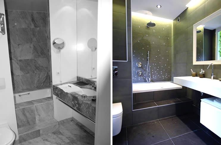 Aménagement d'une salle de bain design