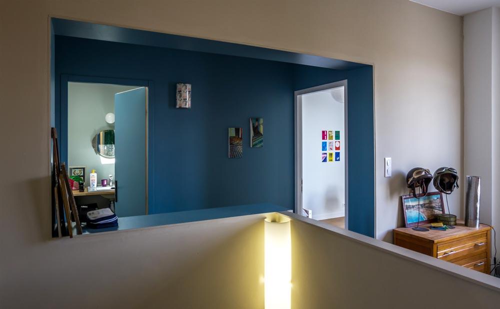 Couloir de l'extension de la maison