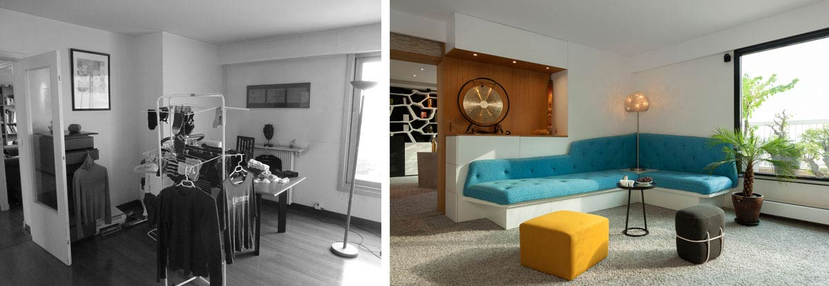 Aménagement d'un salon par un décorateur d'intérieur rregion