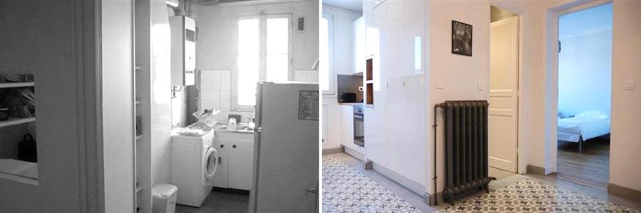 Optimisation de l'espace d'une entrée par un architecte d'intérieur