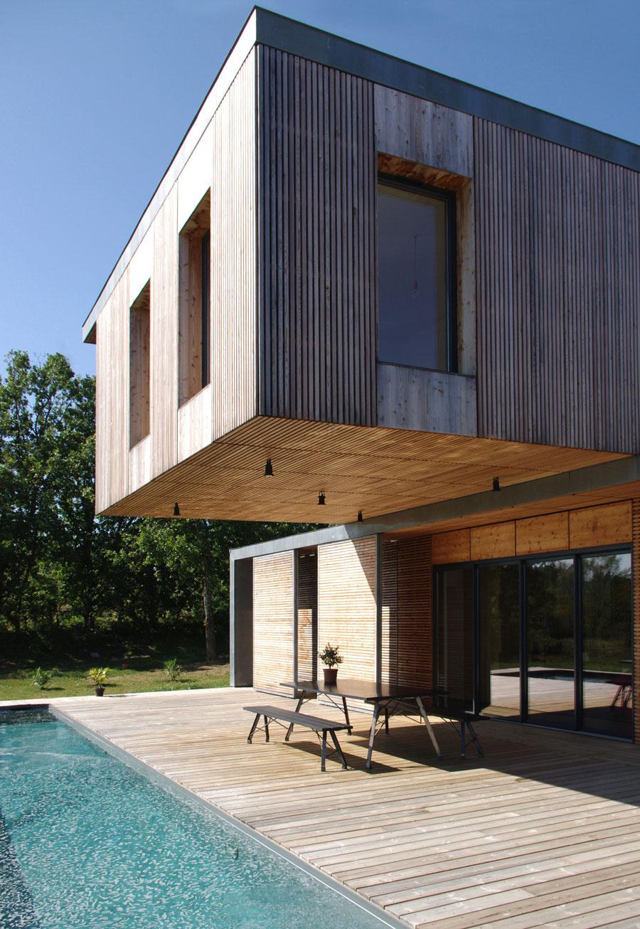 Maison d'architecte avec 2 étage