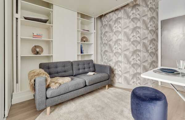 Make a one-bedroom apartement more practical