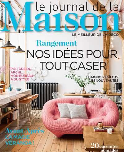 Couverture du Journal de la maison (septembre 2018)